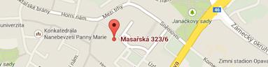 Reclíková & Kaniok - mapa